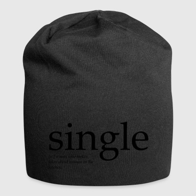 Single man - Jersey Beanie