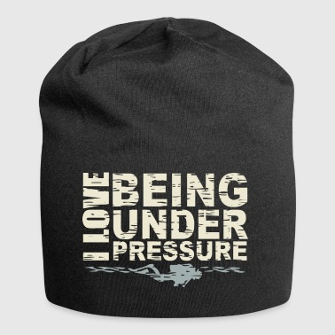 DIVERTURE Under Pressure - Beanie in jersey