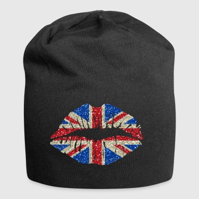 Sexy lips Great Britain England Union Jack - Jersey Beanie