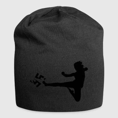 against Nazis - Jersey Beanie