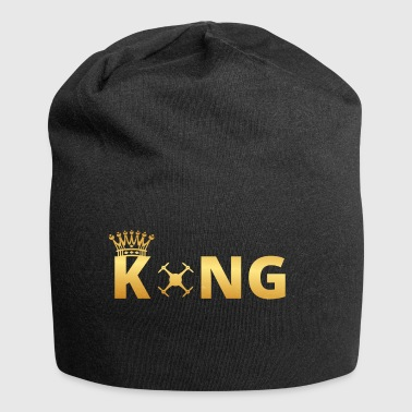 gift king king god drone drone - Jersey Beanie