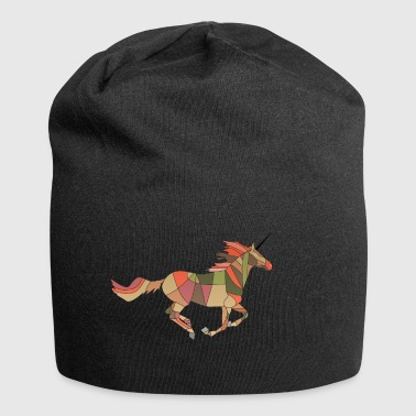 Rennes the unicorn burns for you - Jersey Beanie