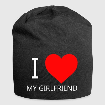 I LOVE MY GIRLFRIEND T-SHIRT - Jersey Beanie