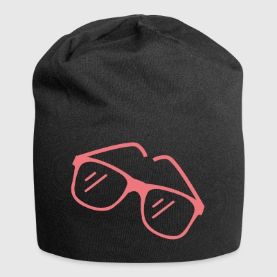 Red sunglasses - Jersey Beanie