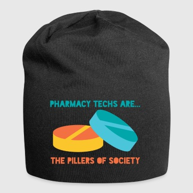 Pharmacy / Pharmacist: Pharmacy Techs Are ... The - Jersey Beanie