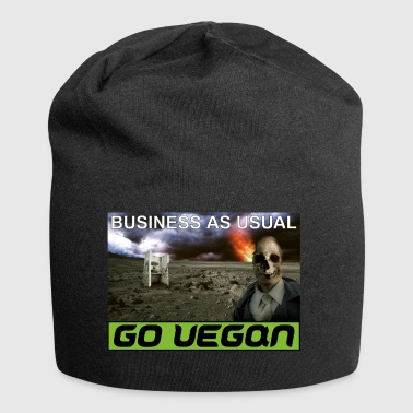 BUSINESS AS USUAL 2 - Jersey Beanie