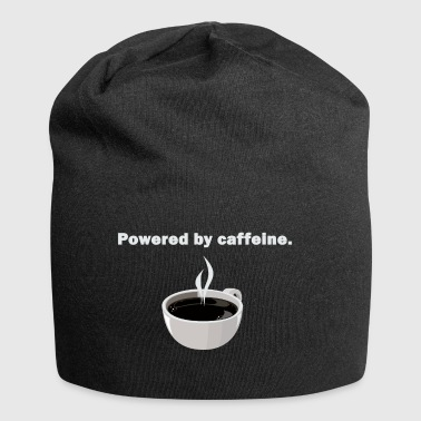 Powered by caffeine - Jersey Beanie
