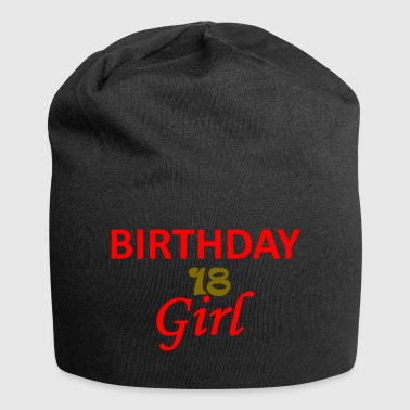 BIRTHDAY GIRL 18 - Jersey Beanie