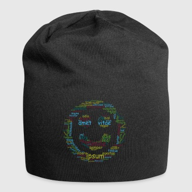 smile for life typo - Jersey Beanie