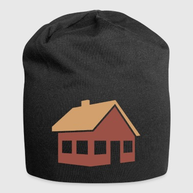 building house homes architecture house building211 - Jersey Beanie