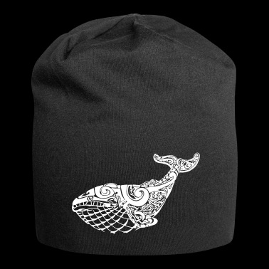 The Blue Whale - Beanie in jersey