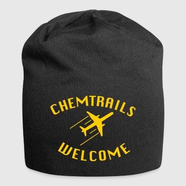 Chemtrails Welcome Shirt - Conspiracy Theory - Jersey Beanie