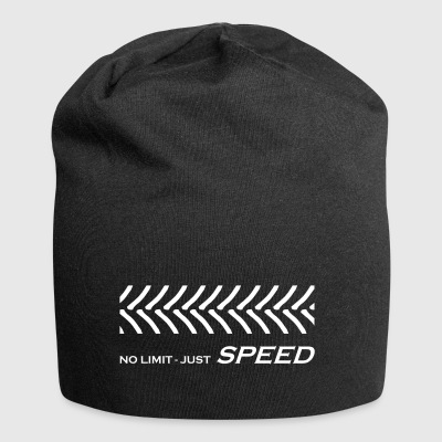 Traktorrennen, No Limit just Speed, Rasentraktor - Jersey-Beanie