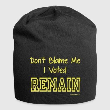 Dont Blame Me - Jersey Beanie