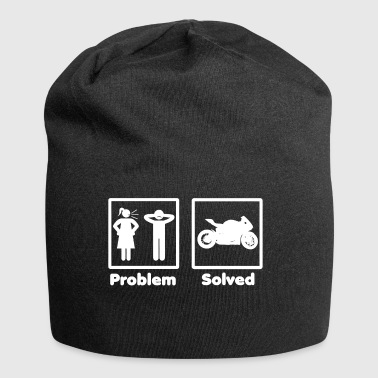 problem solved motorcycle bike - Jersey Beanie