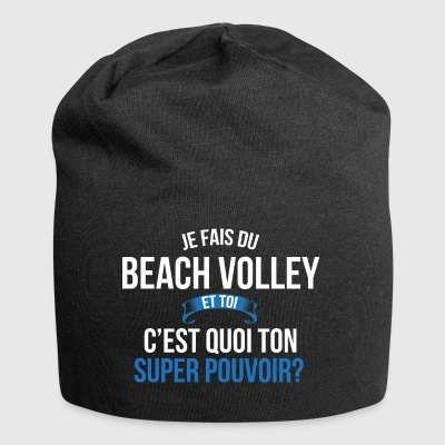 Beach volley super pouvoir homme - Bonnet en jersey