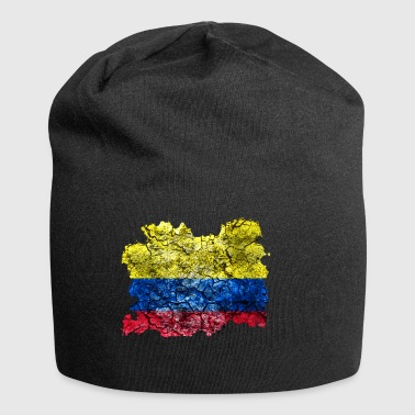 Colombia vintage flag - Jersey Beanie