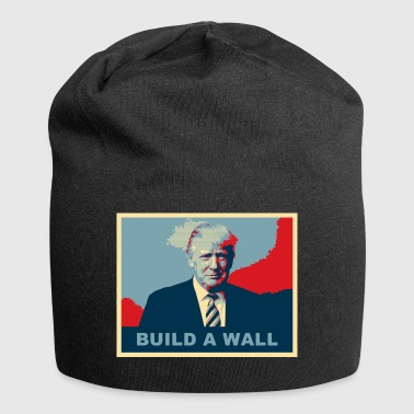 TRUMP BUILD A WALL - Jersey-Beanie