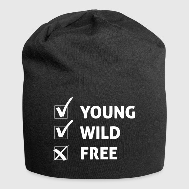 Young Wild and Free / Gift Idea - Jersey Beanie