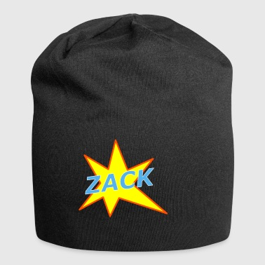 Cooler Comic Action Effekt Zack - Jersey-Beanie