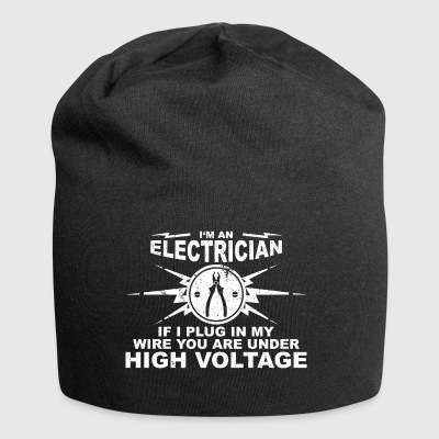 Electricians have really long wires - Jersey Beanie