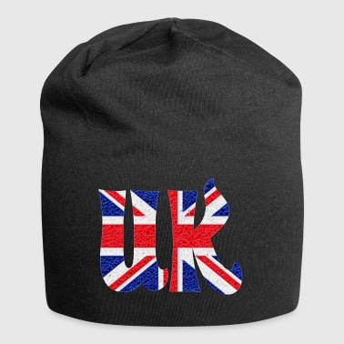 UK Flagge Kristall - Jersey-Beanie