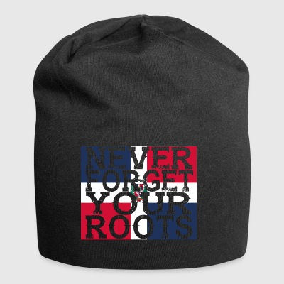 never forget roots home Dominican Republic - Jersey Beanie