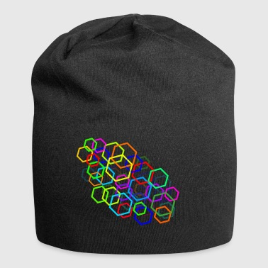 COLOGNE | Pentagons | Modern - Jersey Beanie