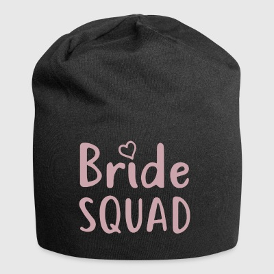 Bachelorette Party - BRIDE SQUAD - Jersey Beanie