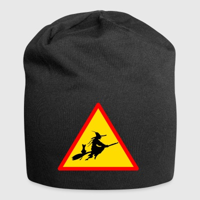 witches witch witches witch halloween - Jersey Beanie