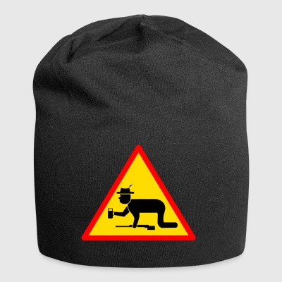 warning ubriaco segno Hunter - Beanie in jersey