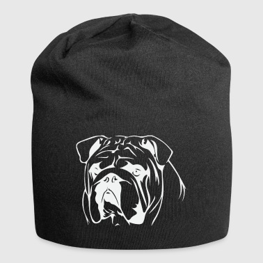 Bull Dog - Beanie in jersey