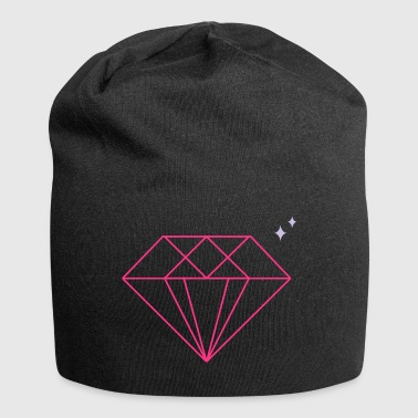 diamante - Beanie in jersey