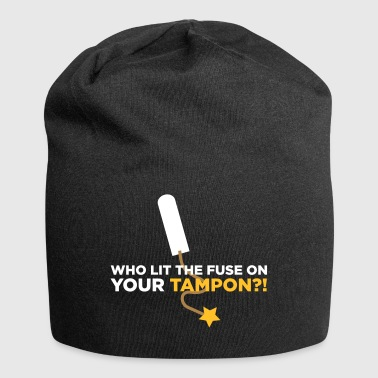 Who Lit Your Tampon? - Jersey Beanie