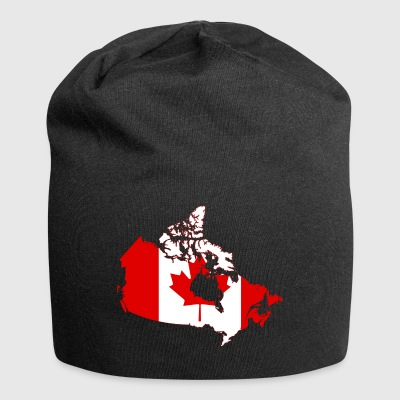 Kort over Canada - Jersey-Beanie