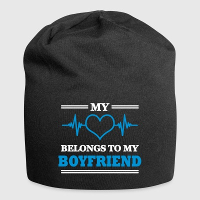 My heart belongs to my boyfriend - Jersey-Beanie