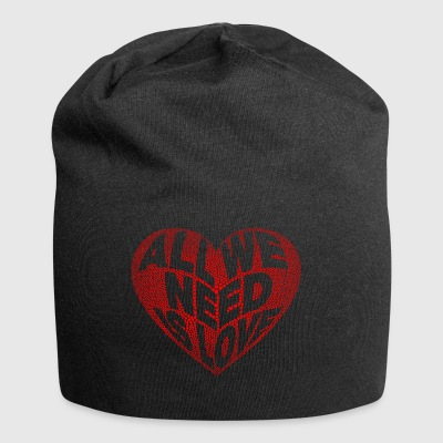 vrede / All we need is love - Jersey-Beanie