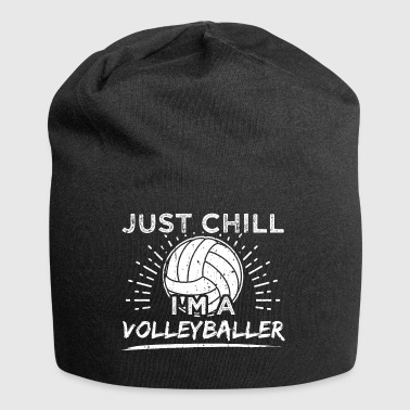 Funny Volleyball Player skjorte Just Chill - Jersey-beanie