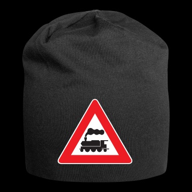 eisenbahn zug tram train railroad railway locomoti - Jersey-Beanie