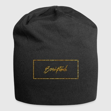 Scipted. Box Logo Gold - Jersey Beanie
