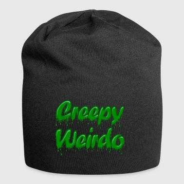 Green Gloop Creepy Weirdo - Jersey Beanie