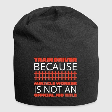 Train driver, train conductor, railway, subway, ICE, train - Jersey Beanie