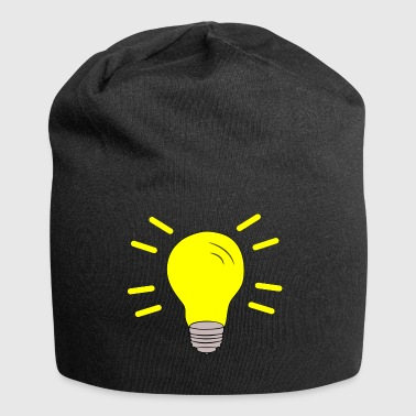 Light bulb switched on - Jersey Beanie