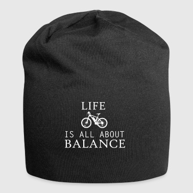 life all about balance fahrrad bycicle chain tour - Jersey-Beanie