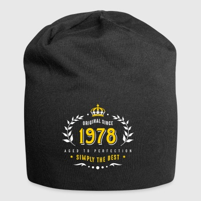 original since 1978 simply the best 40th birthday - Jersey Beanie