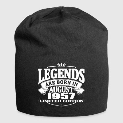 Legends are born in august 1957 - Jersey Beanie
