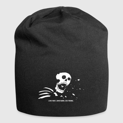 Live fast, die young - Jersey-Beanie