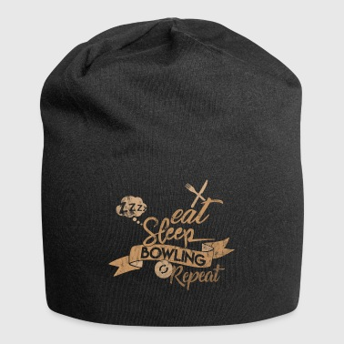 EAT SLEEP BOWLING REPEAT - Bonnet en jersey