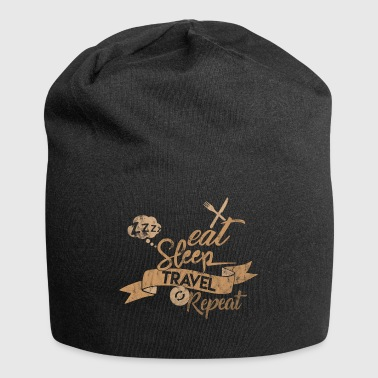 EAT SLEEP REPEAT DE VOYAGE - Bonnet en jersey