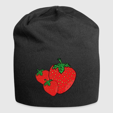 Three strawberries gift idea - Jersey Beanie
